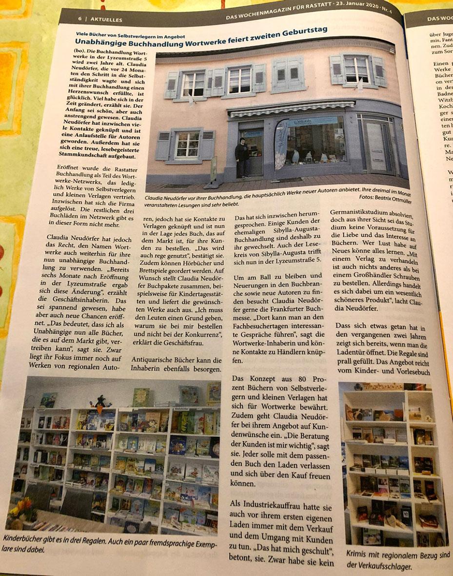 Niederbühler Ortsblatt, 2. Juni 2017
